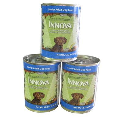 Innova Canine Senior Dog Food Cans Large Case