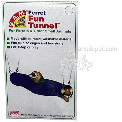 S.A.M. Nylon Ferret Fun Tunnel with Hanging Chains