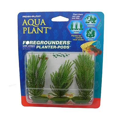 Willowmoss 3 pod Plastic Aquarium Plant