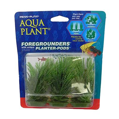 Willowmoss 6 pod Plastic Aquarium Plant
