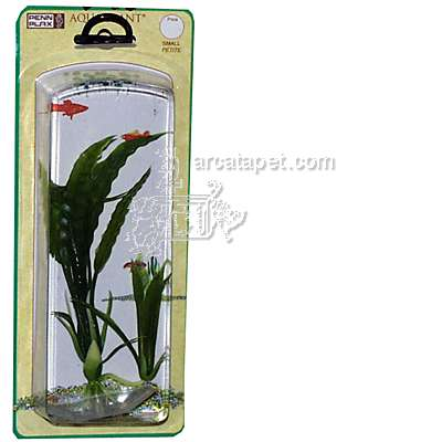 Flowering Crypt Small Plastic Aquarium Plant