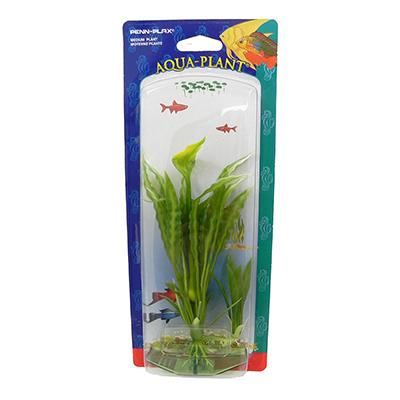 Flowering Crypt Medium Plastic Aquarium Plant