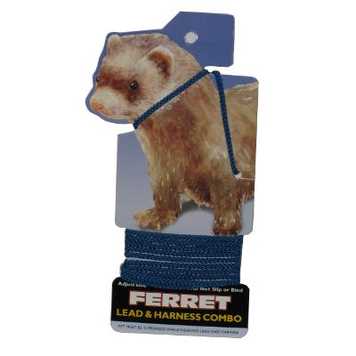 Ferret Lead and Harness Blue