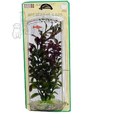 Ambulia Red Medium Plastic Aquarium Plant