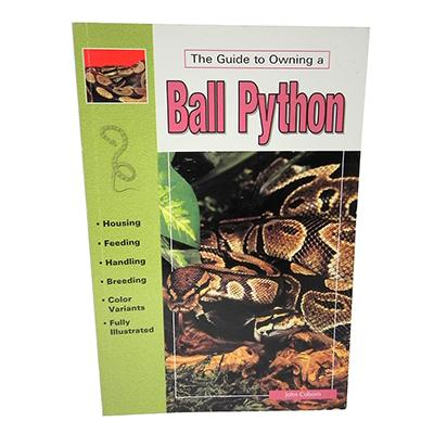 Ball Pythons Guide to Owning Book