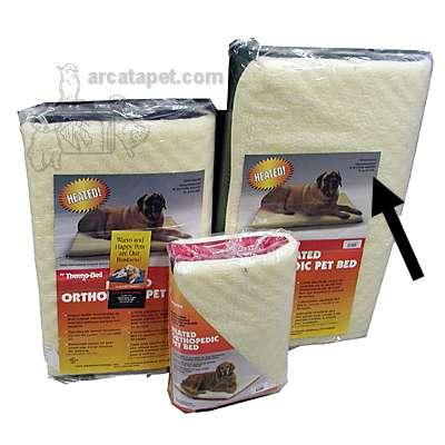 Ortho Thermo Heated Dog Bed XLarge 33x43 inches