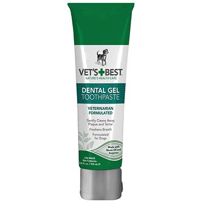 Vets Best Dog Dental Care Gel 3.5-oz.
