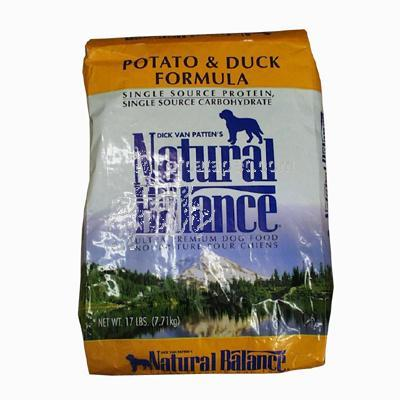 Natural Balance Potato & Duck Allergy Dog Food 13lb