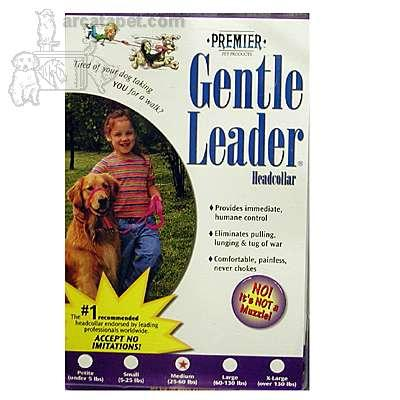 Premier Gentle Leader Dog Head Collar Medium Red