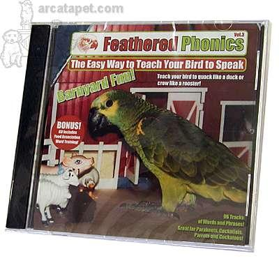 Feathered Phonics Vol.3 CD Bird Speech Training