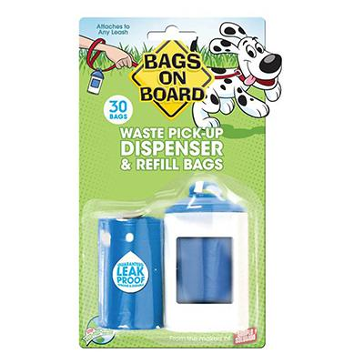 Bags On Board Doggy Waste Clean-up Bags