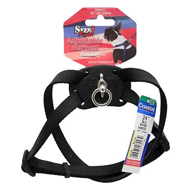 Nylon Dog Harness Size Right Small Black