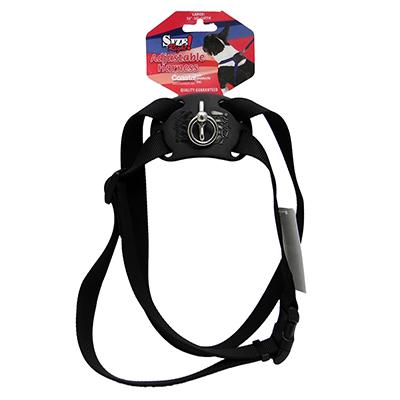 Nylon Dog Harness Size Right Large Black