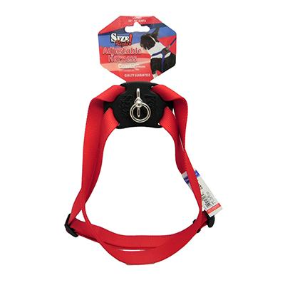 Nylon Dog Harness Size Right Large Red