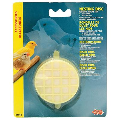 Living World Canary Finch Nesting Discs