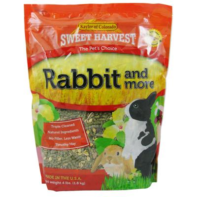 Rabbit Food and More 4 pound