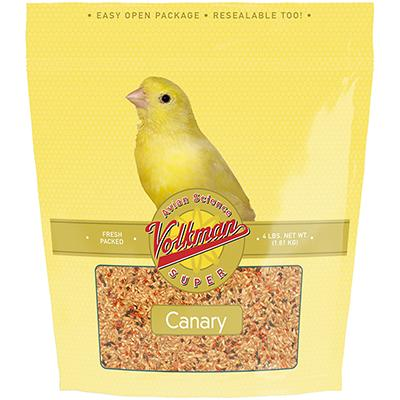 Volkman Avian Science Super Canary 4 pound Bird Seed