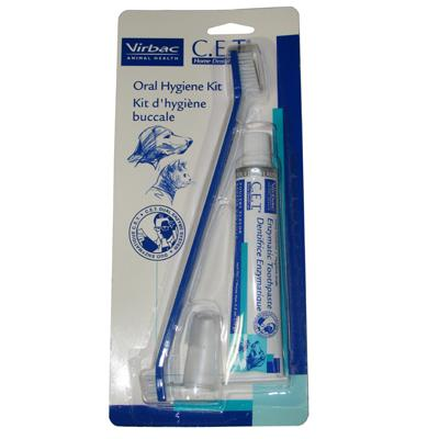 Virbac C.E.T. Enzymatic Oral Hygiene Kit for Dogs and Cats