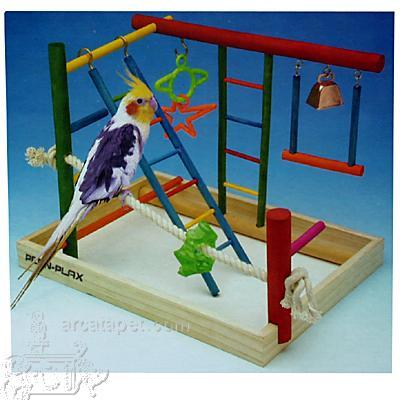 Penn Plax Play Center Large Bird Playpen