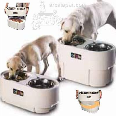 Store-N-Feed Adjustable-Height Dog Feeder