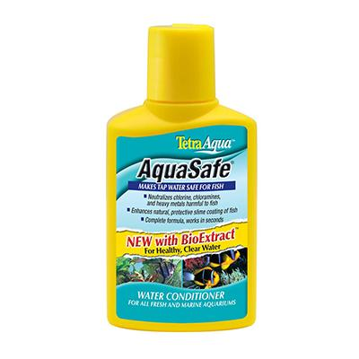 Aqua Safe 2 in 1 8.45 ounce Aquarium Chlorine Remover