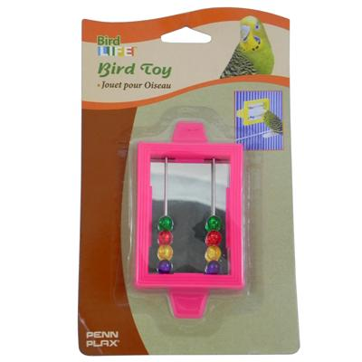 Bird Mirror Rectangular Parakeet Size