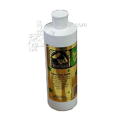 Solid Gold Super Sen Gelle Pet Shampoo 16oz