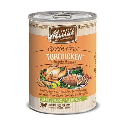 Merrick Turducken Dog Food Case