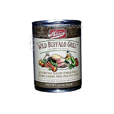 Merrick Wild Buffalo Grill Dog Food Each