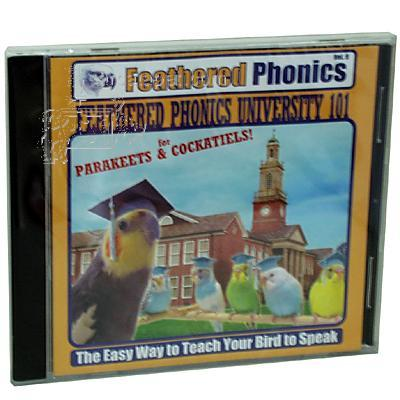 Feathered Phonics Vol.9 CD Bird Speech Training