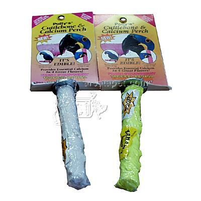 Flavored Cuttlebone Bird Perch Small