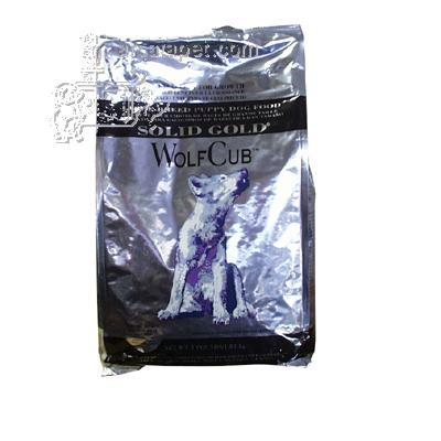 Solid Gold Wolf Cub Large Breed Puppy Food 4 Lb.