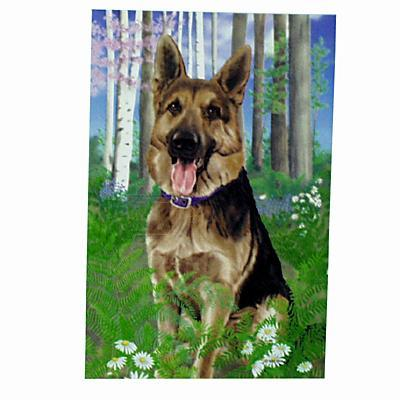 GR8 Dogs German Shepherd Dog House Flag
