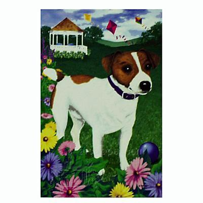 GR8 Dogs Jack Russell Terrier House Flag