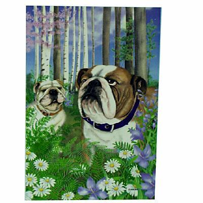 GR8 Dogs Bulldog Garden Flag