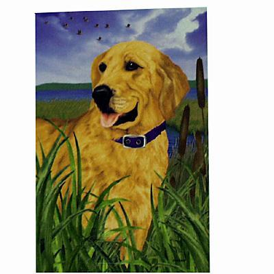 GR8 Dogs Golden Retriever Garden Flag
