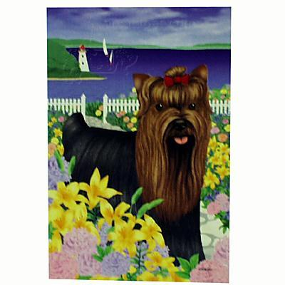 GR8 Dogs Yorkshire Terrier Garden Flag