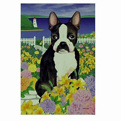 GR8 Dogs Boston Terrier Garden Flag
