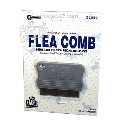 Flea Comb fine without handle