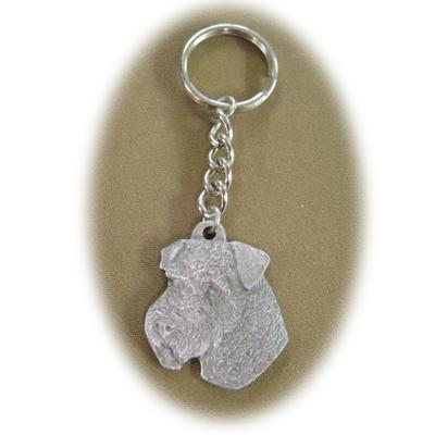 Pewter Key Chain I Love My Welsh Terrier