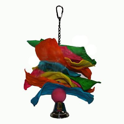 Leather Cluster Bird Toy XLarge