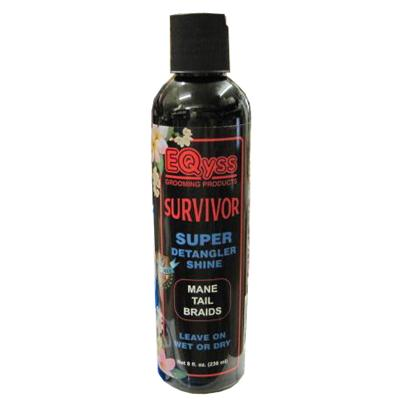 EQyss Survivor Super Detangler Shine 8 oz Equine