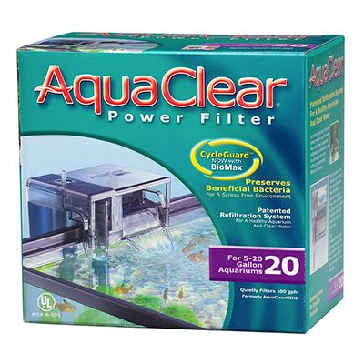 AquaClear 20 Aquarium Power Filter