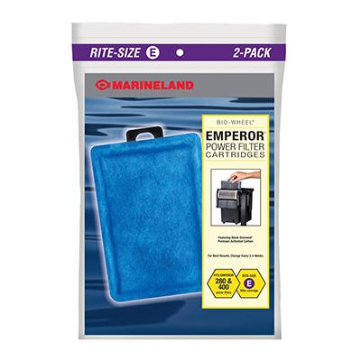 Rite-Size Emperor Filter E Cartridge 2 Pack