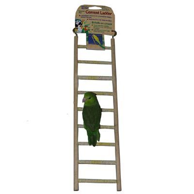 Penn Plax 9-Step Cement Ladder Small Bird