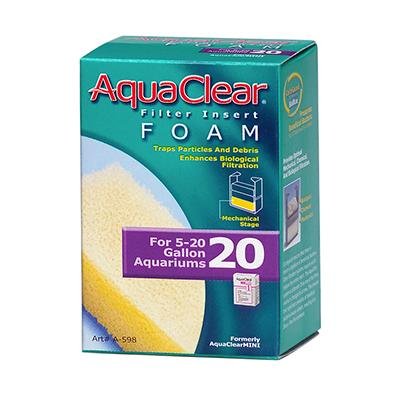 AquaClear 20 Foam Aquarium Filter Insert