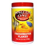 Omega One Freshwater Flakes Fish Food 5.3 ounce