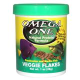 Omega One Veggie Flakes Fish Food 1 ounce