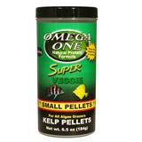 Omega One Small Floating Kelp Pellets Fish Food 6.5-oz