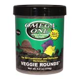 Omega One Veggie Rounds Fish Food 4.2 ounce
